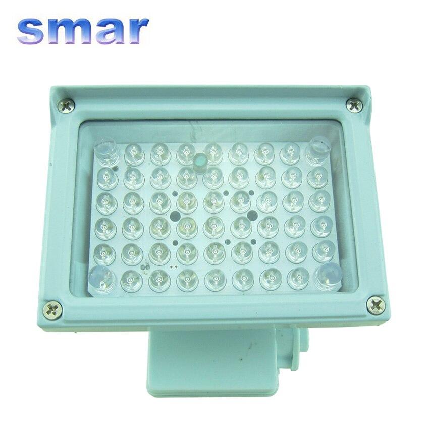 54 инфракрасный светодиодный 30 м 12 В 8 Вт ИК светильник ночного видения светодиодный вспомогательный светильник ing для камеры видеонаблюдения
