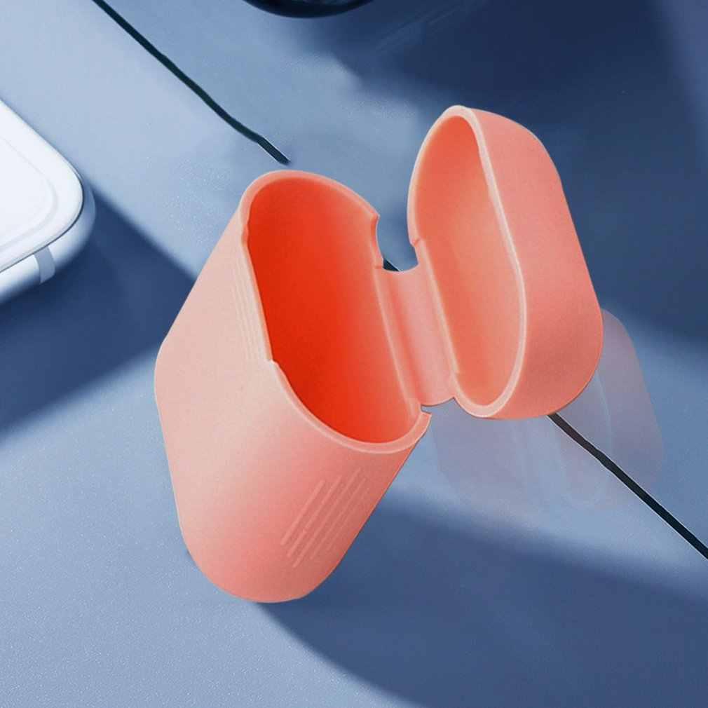 لينة غطاء من السيليكون سماعات ل أبل Airpods حالة بلوتوث اللاسلكية سماعة واقية صندوق غطاء ل الهواء القرون الأذن القرون حقيبة