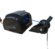 12V Electric AutoDepoly Anchor Winch For 45LBS 20KG Anchor Freshwater Black Marine Boat