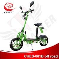 В Высокое качество 1000 Вт 48 В складной электрический скутер для взрослых с фарами, задние фонари, поворотные огни и 3,00 10 колеса