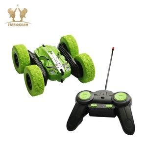 Image 3 - RC รถ Rock Crawler ม้วน 2.4G 4CH Stunt Drift Deformation รถ Buggy 360 องศาเด็กหุ่นยนต์ RC ของเล่นรถ