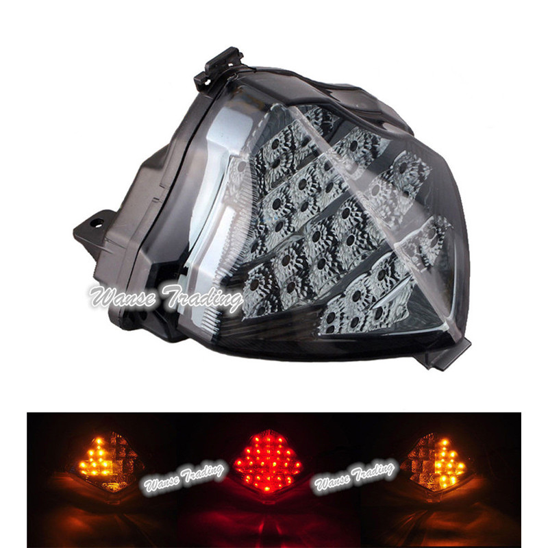 25 cm Integrated Turn Tail Signal lumineux A4 DEL Bande Fit Yamaha