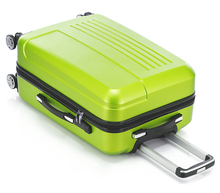 2017  Fochier 20 24 inch  ABS Hardside luggage Single Rolling Spinner 4 Wheels Travel Suitcase Luggage Set Green