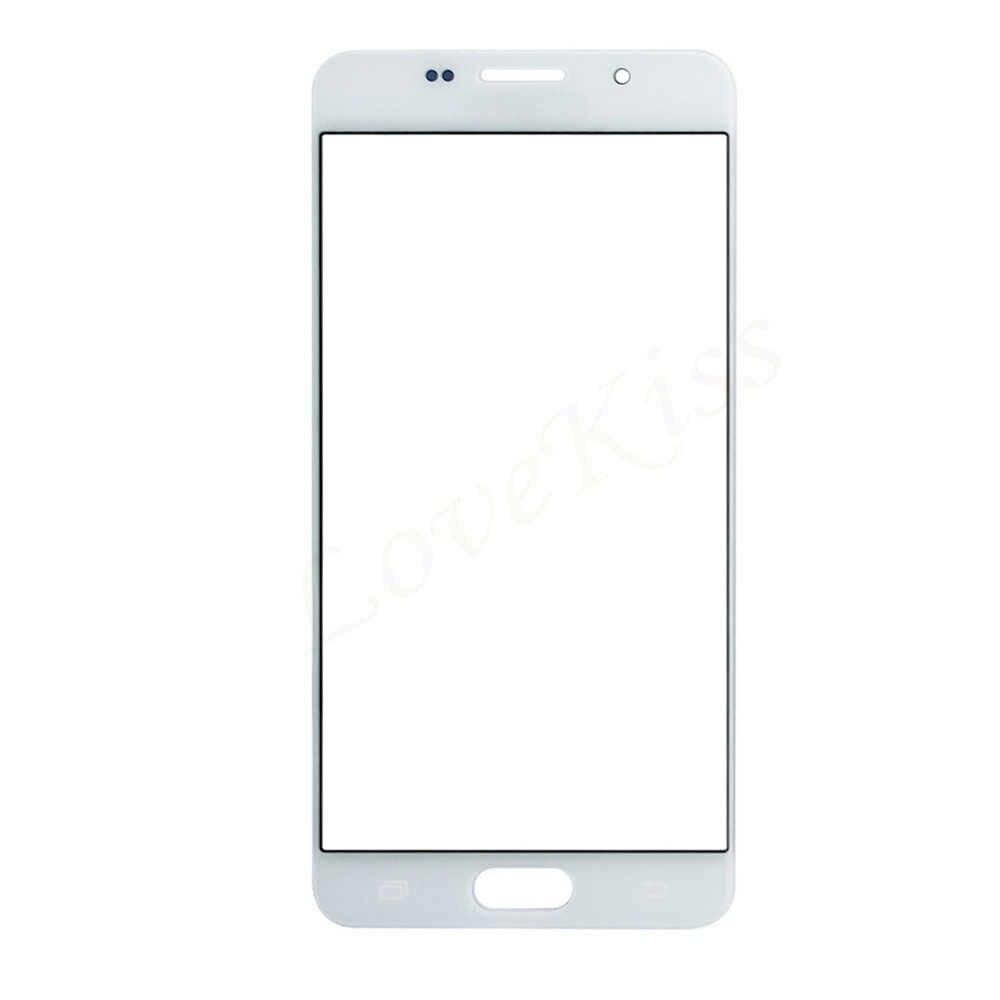 Сенсорная панель для samsung Galaxy A3 A5 A7 2015 SM A300F A500F A700F сенсорный экран передняя стеклянная крышка сменные инструменты
