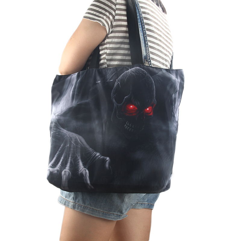 c3e6077562fb Cool BoomBox Foldable Shopping Bag Womens Girls Zip Soft Shoulder Shopping  Bag Tote School Handbag Mom Bag Free Shipping-in Shopping Bags from Luggage  ...