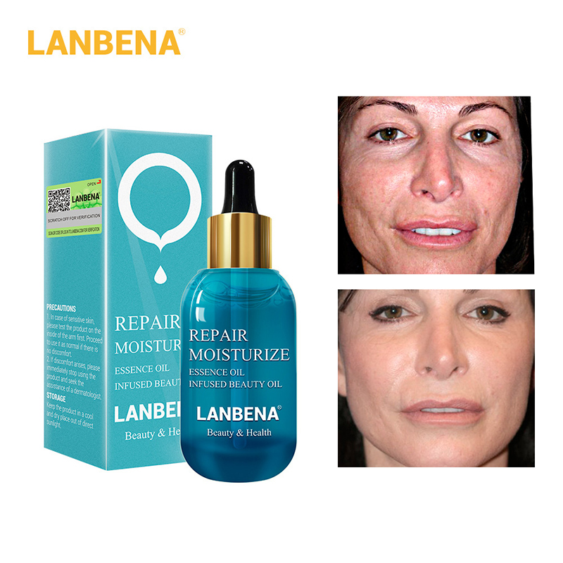 LANBENA Hyaluronic Acid Repair Essential Oil Anti Aging Wrinkle Moisturizing Nourishing Firming Essence Face Skin Care Beauty