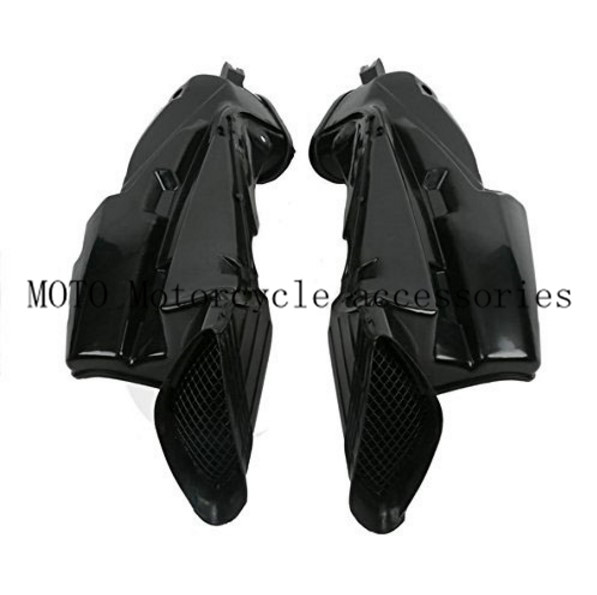 Motorcycle Ram Air Intake Tube Duct Pipe For Suzuki GSXR 600 750 GSXR600 GSXR750 2006-2007 Air Intake Tube Duct ABS Plastic new motorcycle ram air intake tube duct for suzuki gsxr600 gsxr750 k11 2011 2012 abs plastic black