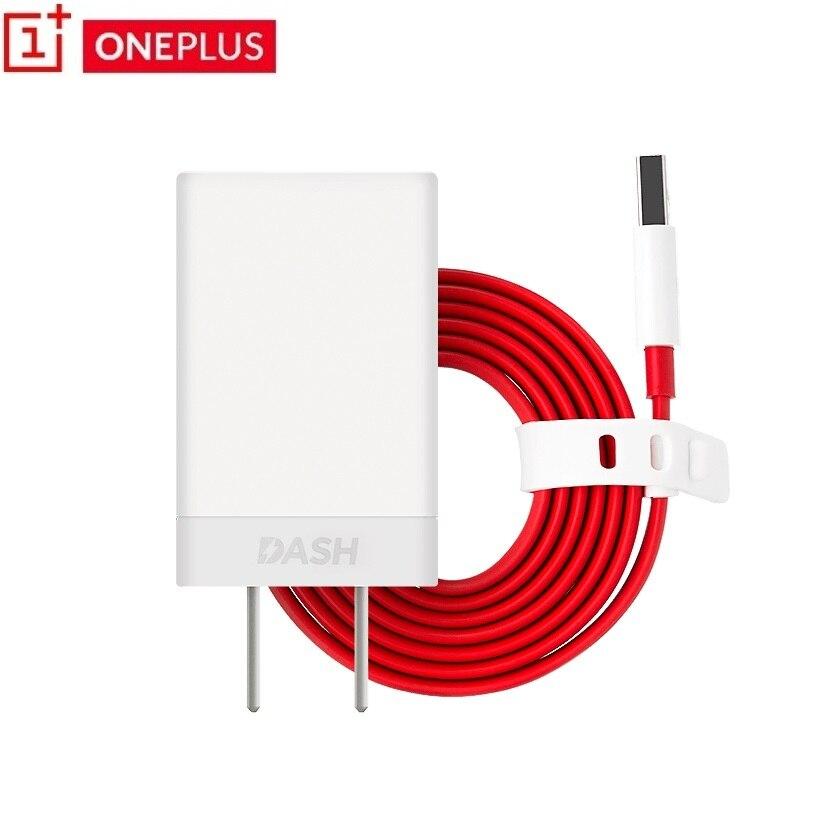 imágenes para Oneplus Original TABLERO de carga rápida Adaptador de cargador Rápido + 1 + 150 cm plana Tipo-c Tablero Cable para Uno más 3 3 T 5 T tres cinco