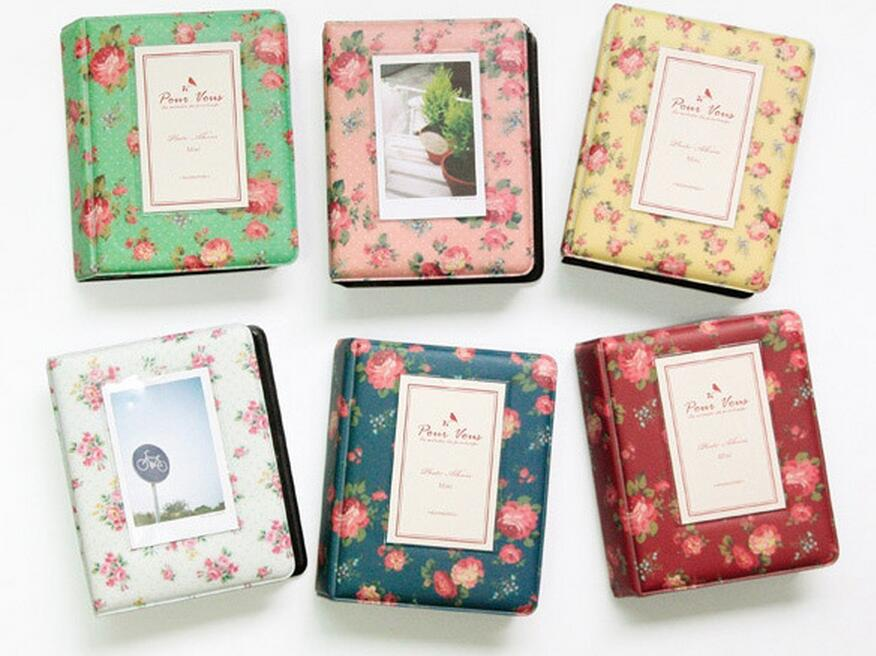 Vintage Floral Blooming Mini Polaroid Album mini 25 / 7s 8 ретро - Үйдің декоры - фото 2
