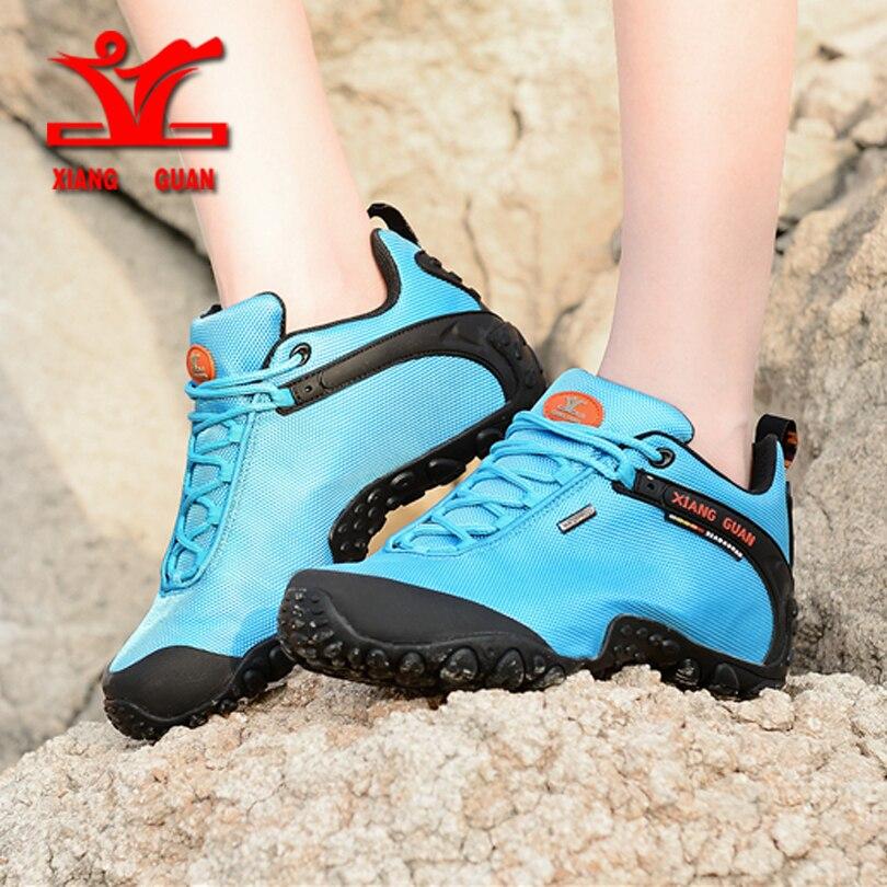 XIANGGUAN 2017 woman Hiking Shoes Athletic Trekking shoes Zapatillas Sports Climbing Shoe Outdoor Walking sneskers shoes women