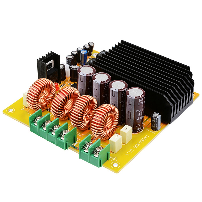 Tas5630 Power <font><b>Amplifier</b></font> Audio Board 2X300W <font><b>Hifi</b></font> Stereo Class D Digital <font><b>Amplifiers</b></font> Home Amp With Ad827 Preamp image