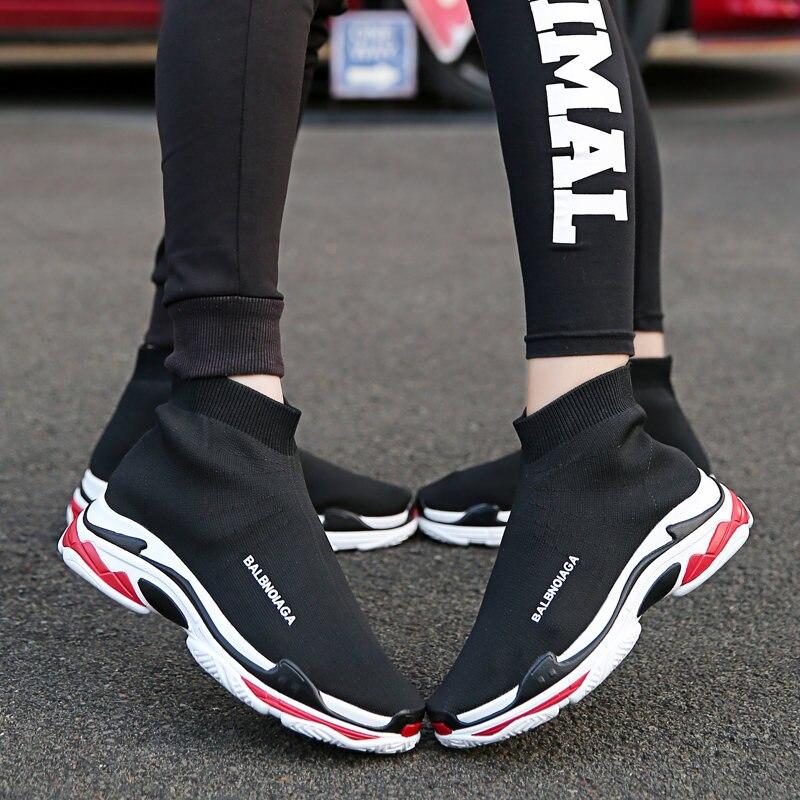 shoes women summer tenis feminino sock casual sneakers women Unisex Brands mesh shoes woman flat platform shoes zapatos mujer стоимость
