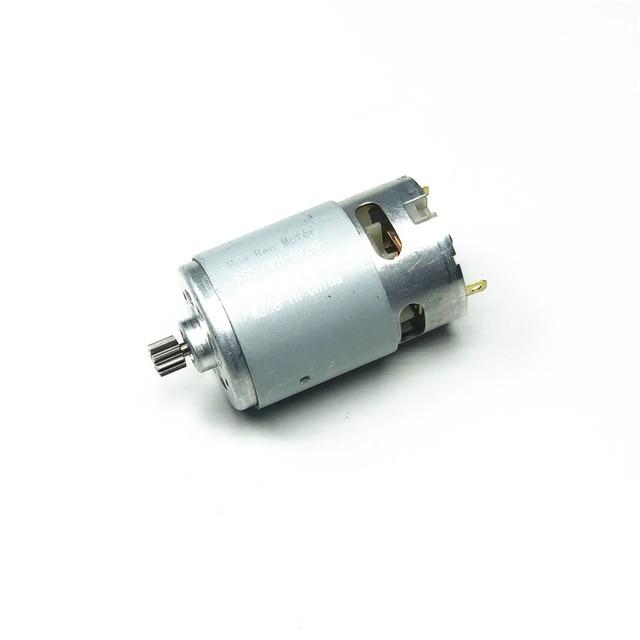 RS550 Motore 14 Denti 9.6V 10.8V 12V 14.4V 16.8V 18V Gear 3 millimetri Albero per Carica Cordless Cacciavite Trapano