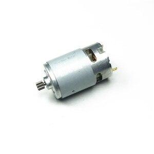 Image 1 - Silnik RS550 14 zębów 9.6V 10.8V 12V 14.4V 16.8V 18V przekładnia 3mm wał do wkrętarki akumulatorowej