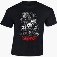2015 Summer Men S Fashion Novelty T Shirts Slipknot T Shirt Rock Metal Band Excellent Quality