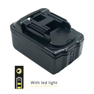 Image 5 - Сменный комплект корпуса аккумулятора с печатной платой и светодиодным индикатором для Makita, батарея 18 в, BL1830, BL1840, BL1850, без элементов питания