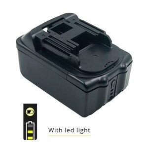 Image 5 - Kit com placa de circuito PCB LED indicador de substituição caso da bateria para Makita 18 v BL1830 BL1840 BL1850 SEM CÉLULAS de bateria