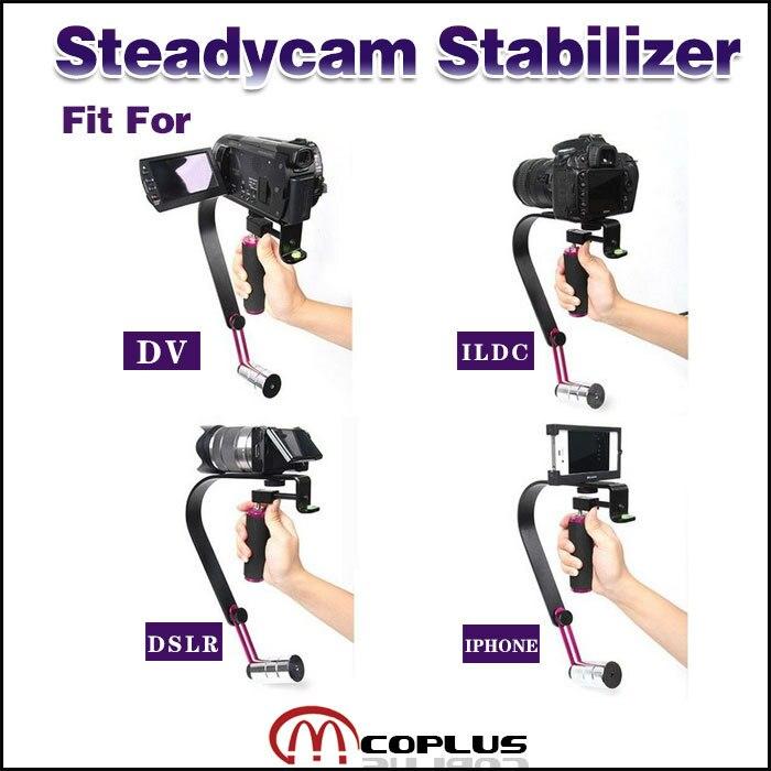 Mcoplus-professionnel stabilisateur de poche vidéo Steadicam pour numérique HDSLR DSLR plate-forme épaule montage DV caméra caméscope
