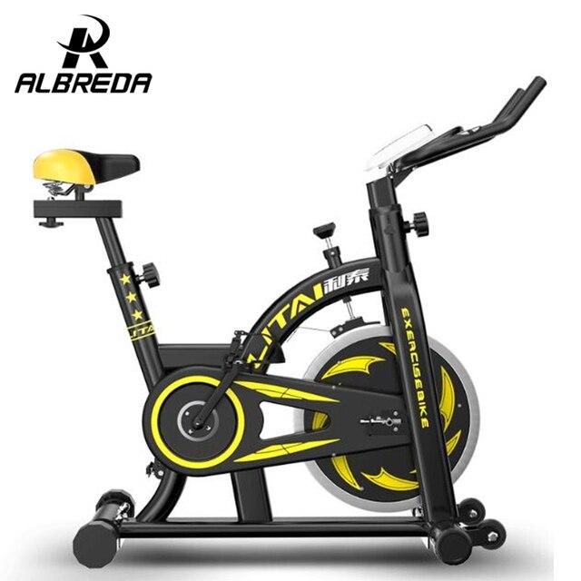 Cool NUEVOS colores sentido Dinámico de la bicicleta/ultra silencioso hogar equipo de la aptitud/de interior deportes bicicleta estática/home ejercicio bicicleta