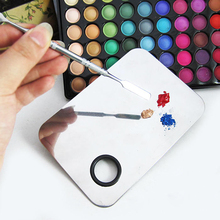 Beauty Stainless Makeup Nail Eye Shadow Mixing Palette Spatula Cosmetic Tool #M01571