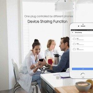 Image 5 - Smart Ladegerät für EU Wifi Smart Steckdose timer switcher Power Überwachung Energie Saver Arbeitet Mit Google Home Mini Alexa IFTTT
