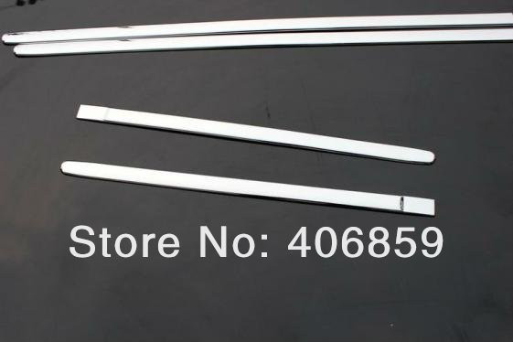 ФОТО High quality ABS Chrome body side moldings side door decoration For 2010-2011 Hyundai VERNA/Solaris