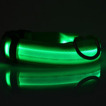 LED Nylon Dog's Collar