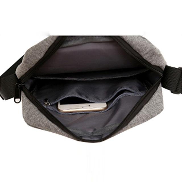 High Quality Men Crossbody Bag Pack Multifunctional Bag Shoulder Messenger Bag Handbag 3