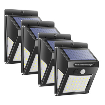 30/40 LED Sensor Solar Power Lamp