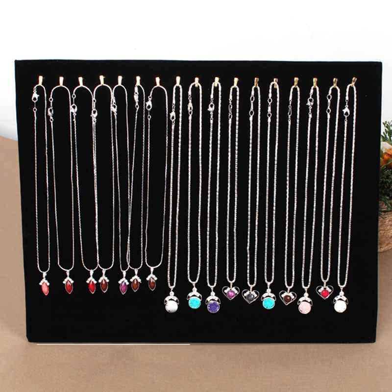 Necklace Display Stand Women Jewelry Organizer Holder Storage Case Bracelet Display Rack #63630