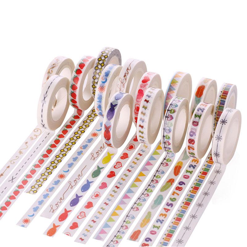 Fijn 10 M Papier Tape Lijnen Scheidslijn Scheiden Kleine Verse Papier En Lijm Bandbreedte 8mm Lange Uitgebreide Selectie;