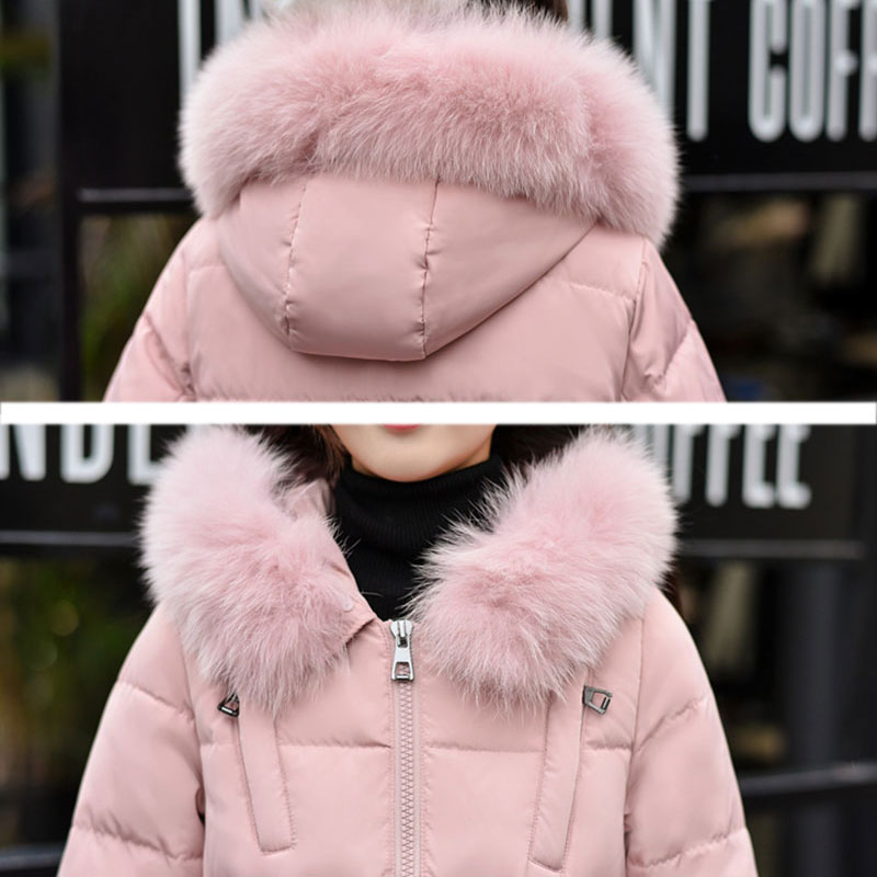 Winter Plus size Down jackets 80% Duck down Womens New Parkas 2017 5XL fur collar Hooded Warm jacket Female Thick Long Coat X264