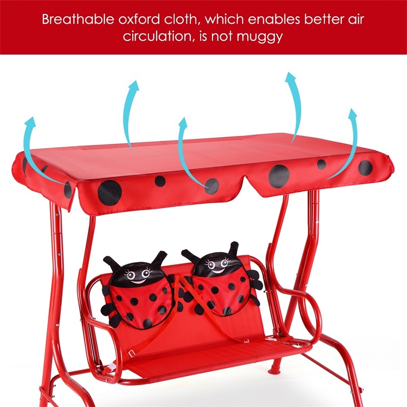 Patio Swing Bench with Canopy