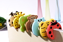 Colorful Baby Helper Door Stop Finger Pinch Guard safe protector baby Lock Toy baby safety corner guard