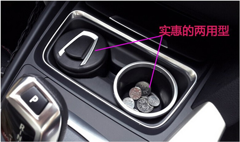 car Ash Tray Ashtray Storage Cup With For peugeot 407 mitsubishi asx bmw e46 seat ibiza hyundai tucson 2016 audi a4 Accessories 4pcs set smoke sun rain visor vent window deflector shield guard shade for hyundai tucson 2016