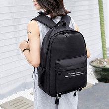 цены на 2019 Shoulder bag New Korean Version Of The Wild Travel bag Student bag Backpack Men And Women Tide  в интернет-магазинах