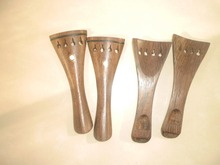 4 PCs Quality Wenge wood Violin Tail piece 4/4 Violin parts