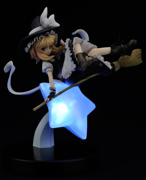 Anime Touhou Project Marisa Kirisame Rev.TOKIAME 1/8 scale PVC Action Figure Resin Collection Model Doll Toy Gifts Cosplay anime naruto uzumaki naruto figure bond relation ver pvc action figure resin collection model toy doll gifts cosplay