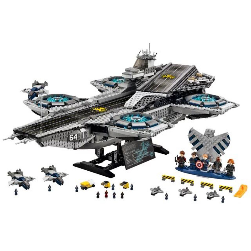 LEPIN 07043 3057pcs Movie Series The Shield Helicarrier Model Building Block Diy Brick Educational Toy For children Gift 76042 in stock lepin 20028 1281pcs technic series super car assembly toy car model diy brick building block toy gift for boy gift 8070