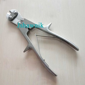 Wire cutter pin cutter plate cutter shear orthopedic instrument veterinary plier for cutting below 2.5mm wire
