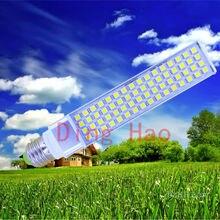 1 шт./лот горизонтальный разъем лампы светодиодные лампы 5W7W9W11W12W14W 5050 SMD25 35 44 52 60 64 LED G24 E27G23 мозоли лампы белый/теплый белый
