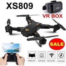 RC Drone VISUO XS809HW Mini Foldable RC Selfie