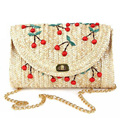 2017 New Brand Summer Women Straw Weave Woven Bag Ethnic Woman Shoulder Bag Straw Knitting Messenger Bags WZ26