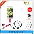 Эндоскопа 7 ММ Водонепроницаемый 2 М 5 М 10 М Эндоскопа HD USB Android Endoscopio Камеры 2IN1 Android Бороскоп USB Endoskop Инспекции Камеры