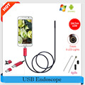 Endoscopio 7 MM Impermeable 2 M 5 M 10 M Endoscopio USB HD Android Endoscopio 2EN1 Cámara de Androide Boroscopio USB Endoskop Inspección Cam