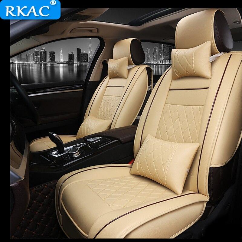 RKAC искусственная кожа автомобилей чехлы для chery tiggo opel insignia для джип Гранд Чероки skoda octavia 1 автомобильного сиденья