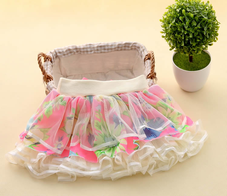 New Baby Girls Ruffle Bloomers TuTu Skirt Ball Gown Rose Red Fuffy Pettiskirt Baby Tulle Layered Children Clothing Set Outfit (17)