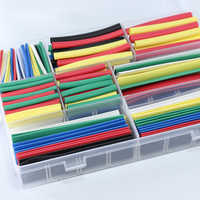 Exquisite Heat Shrink Tube set box Heat Shrinking Cable Sleeving Polyolefin Shrink Tube Wire Insulated heat shrink tubing kit