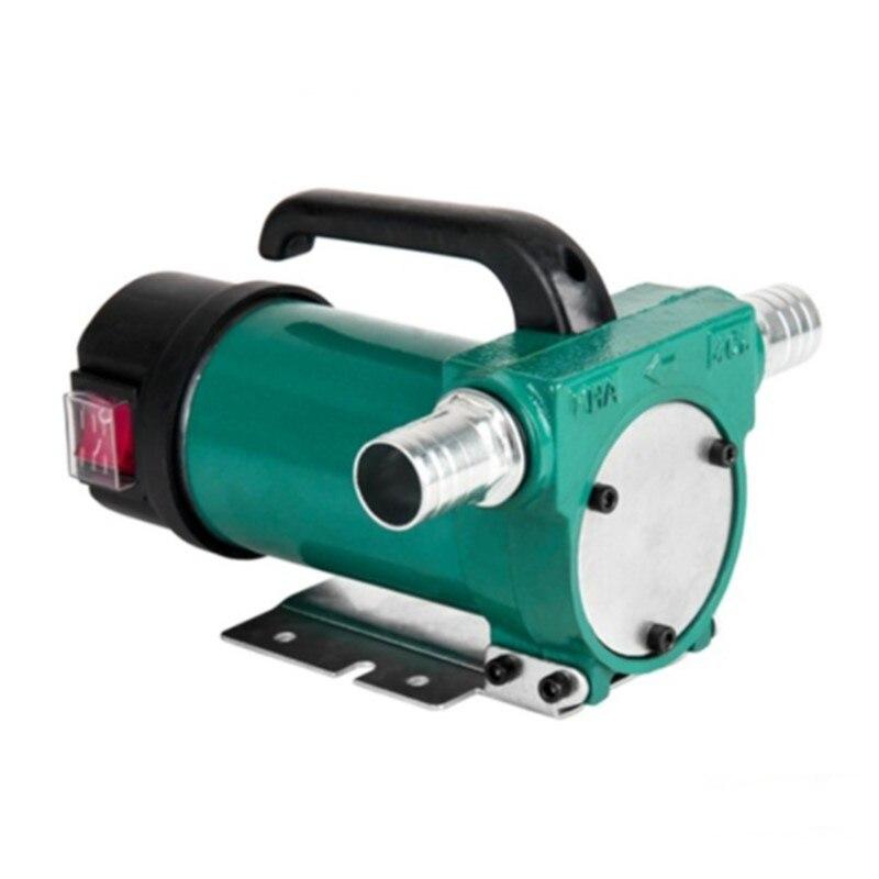 Micro DC 12 V 24 V 200 W 60L/MIN auto-amorçage électrique automatique Transmission pompe à huile petit extracteur d'huile DC distributeur de carburant voiture