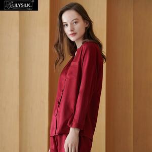 Image 2 - Lilysilk 100 シルクパジャマセット女性純粋な 16 匁女性パジャマ高級天然全身女性の服送料無料
